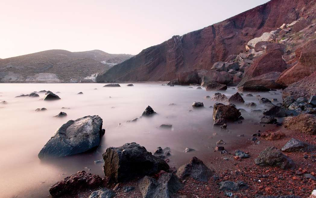Santorini – Red Beach