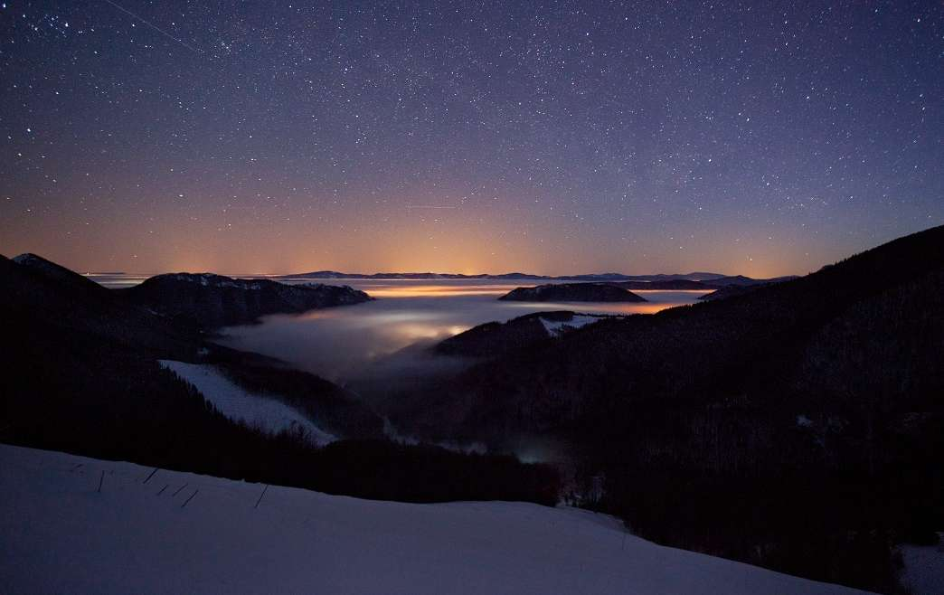Night Sky Terchova